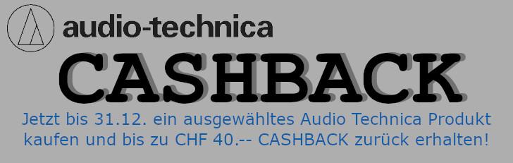 Audiotechnica Cashback