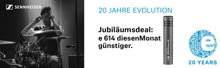 Sennheiser E614 Aktion