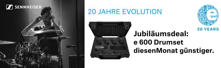 Sennheiser E600 Drumkit