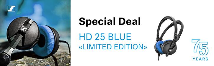 Sennheiser HD 25 Blue