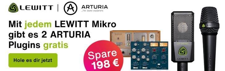 Lewitt x Arturia Promotion Q4 2021