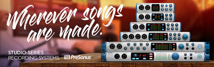 Presonus Studio Interfaces