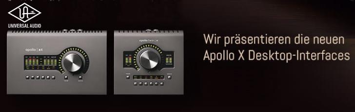 UA Apollo X Desktop