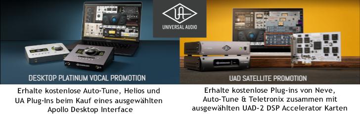 Universal Audio Promotion Q3 2021