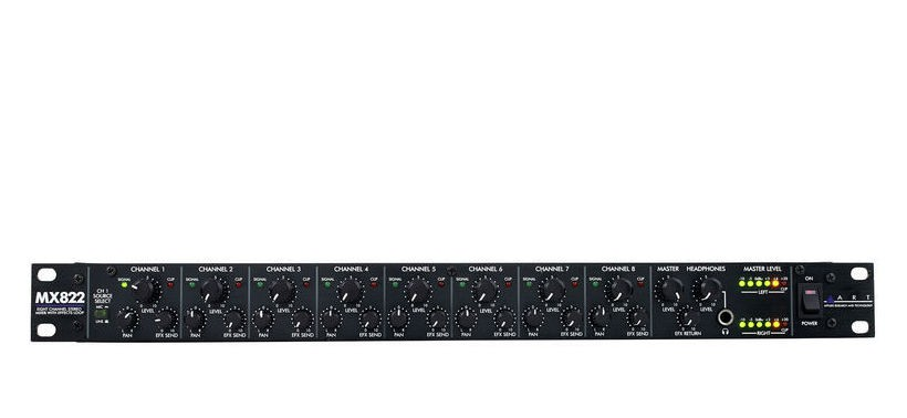 ART MX 822 Mic Line Mixer