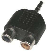 Adapter NTA 105  Mini St  Jack  2 x Cinch f