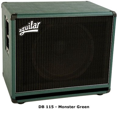 Aguilar DB115 8 Ohm Monster Green