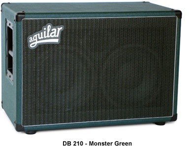 Aguilar DB210 4 Ohm Monster Green