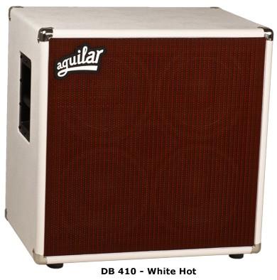 Aguilar DB410 4 Ohm White Hot