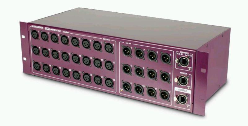 Allen   Heath GLD 80 Audiorack AR2412
