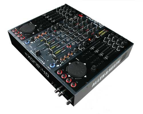 Allen   Heath Xone 4D Black