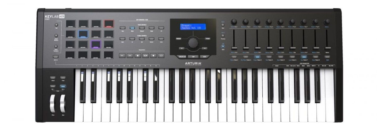 Arturia Keylab 49 MKII Black Edition