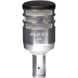 Audix D6 silver
