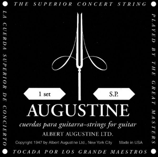 Augustine Black Low Tension Einzelsaite 4  D