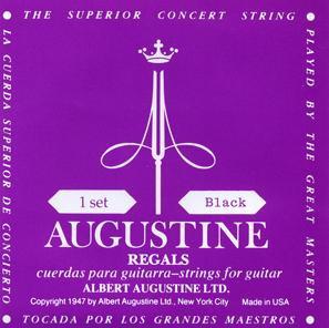 Augustine Black Regals Satz Low Tension