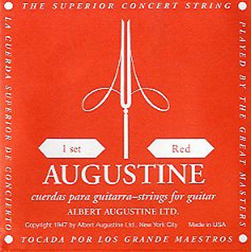 Augustine Red Medium Tension Einzelsaite 2  H