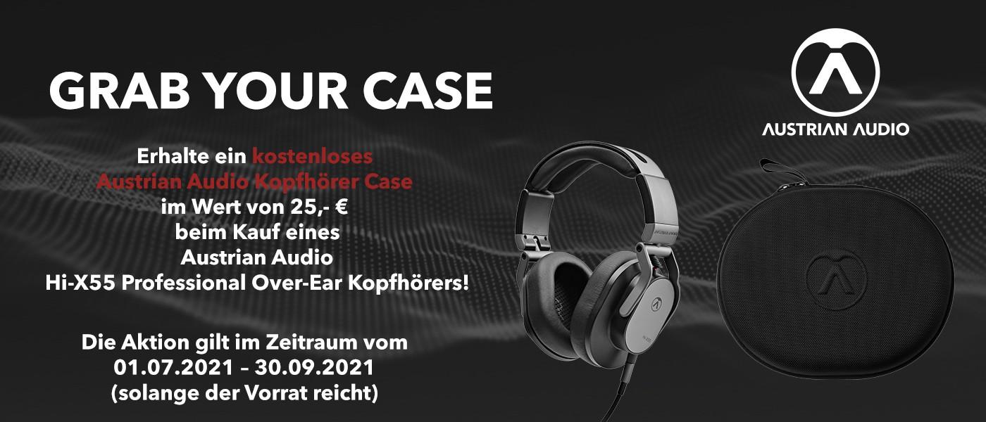Austrian Audio Hi X55 Over Ear inkl  GRATIS CASE