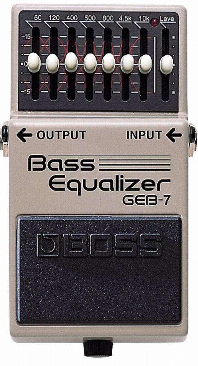 Boss GEB 7 Bass EQ