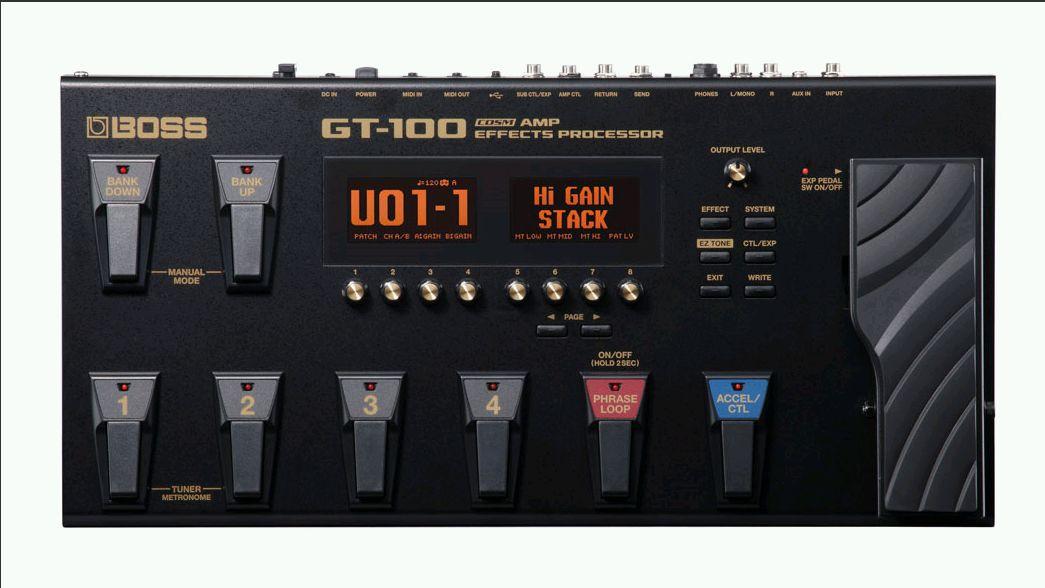 Boss GT 100 V2 Effect Processor