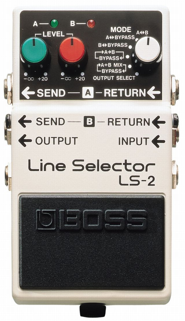 Boss LS 2 Line Selector