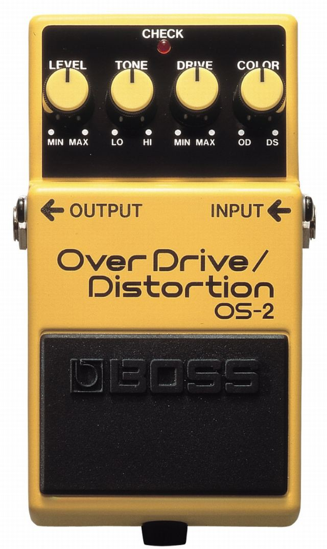 Boss OS 2 Overdrive Distortion
