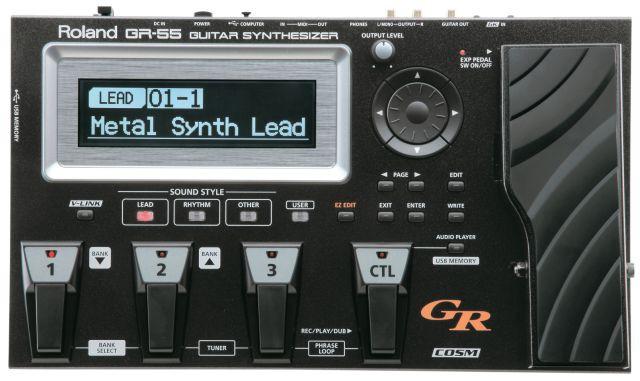Boss   Roland GR 55 GK inkl  Pickup Schwarz