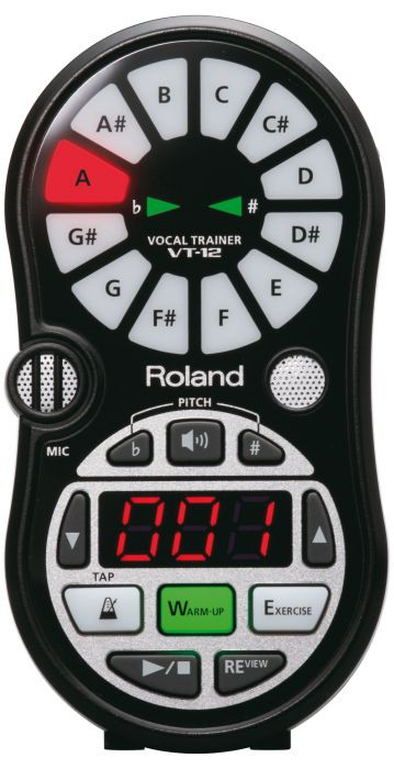 Boss   Roland VT 12 Black Pocket Vocal Coach