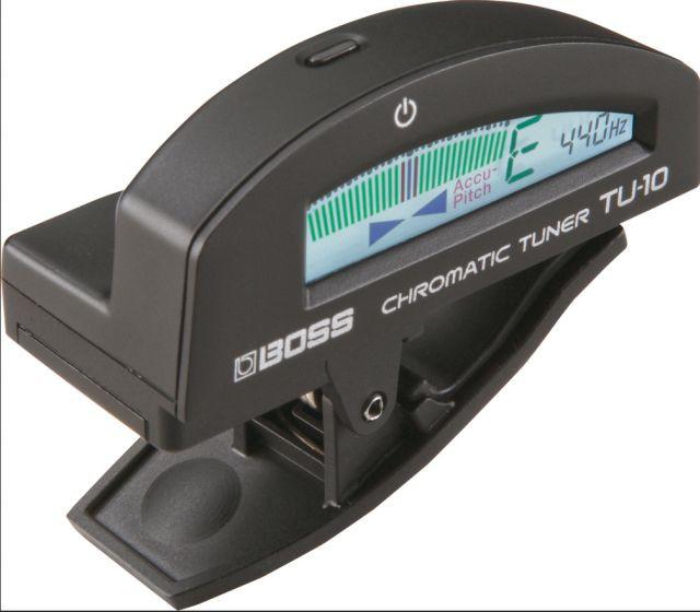 Boss TU 10 Clip Tuner black
