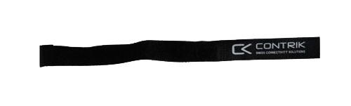 Contrik KV16C BLACK Klettverschluss 16 x 200 mm