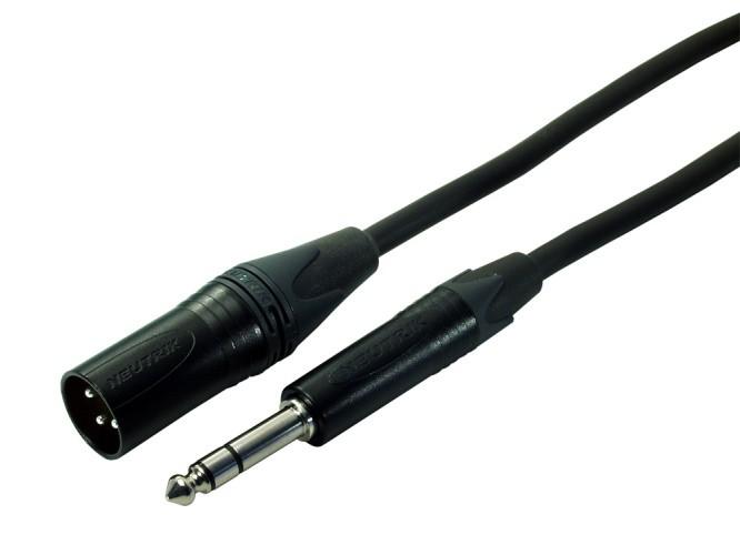 Contrik NMK MP3 BL Jack XLR 10m