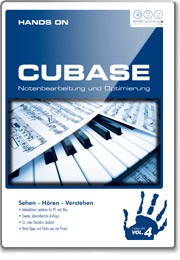 DVD Hands On Cubase Vol  4 Notation