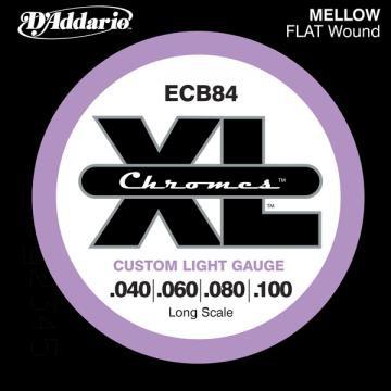 D Addario ECB84 Flat Wound  040  100