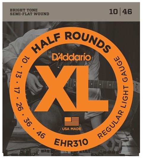 D Addario EHR310 Half Round Stainless  010    046