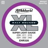 D Addario EHR320 Half Round Stainless  009    042