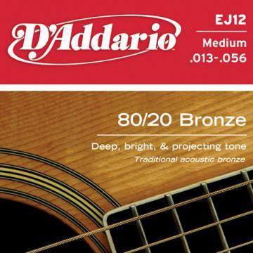 D Addario EJ12 Ac  Bronze Wound  013  056