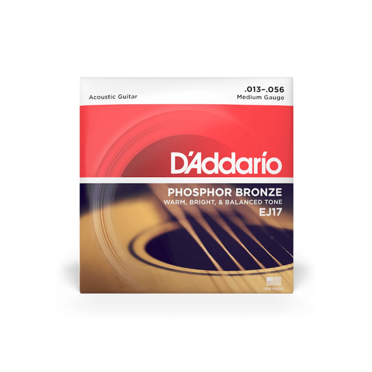 D Addario EJ17 3D Ac  Phosphor Bronze  013  056