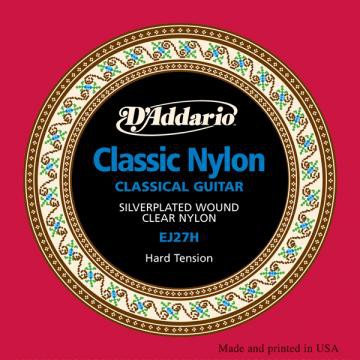 D Addario EJ27H Cl  Student Clear Nylon Hard