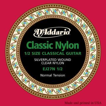 D Addario EJ27N 1 2 Cl  Student Clear Nylon Normal