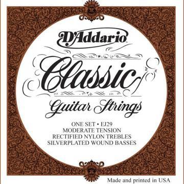 D Addario EJ29 Classic Nylon Moderate