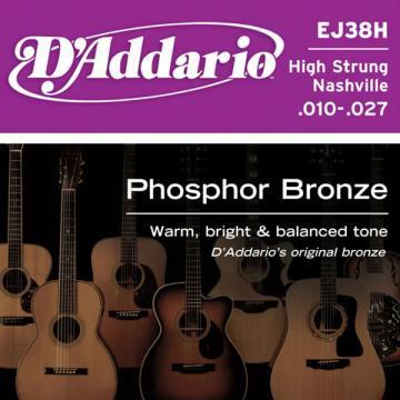 D Addario EJ38H Ac  Ph Bronze  010    027