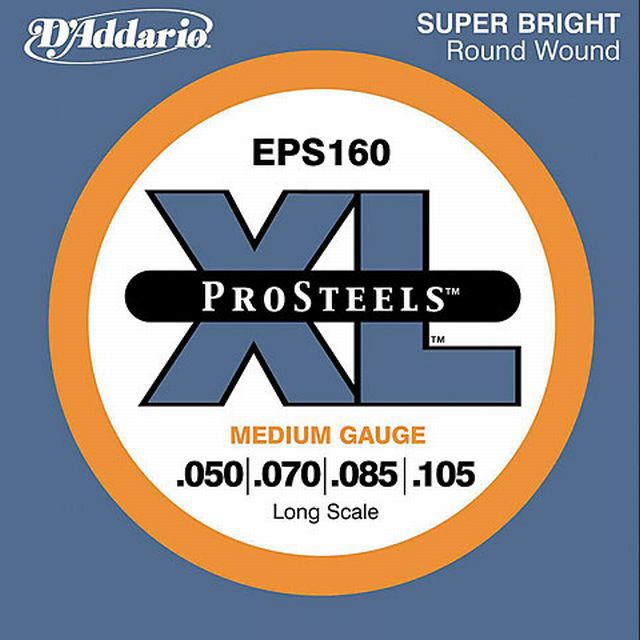 D Addario EPS160 Round Wound Long Sc  50 105
