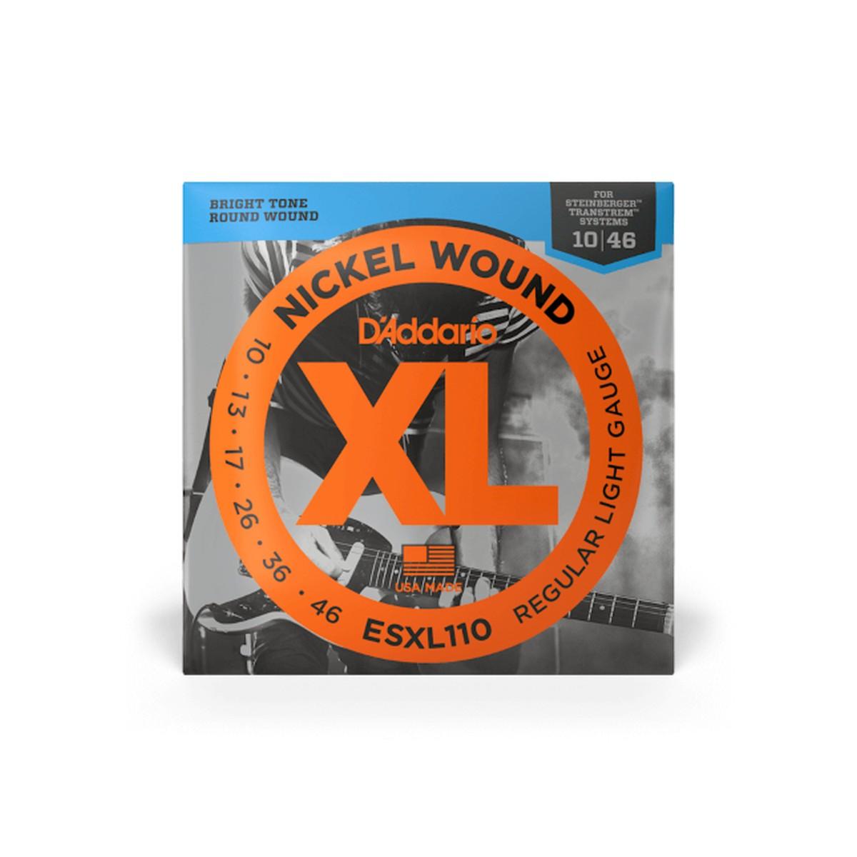 D Addario ESXL110 Steinberger Nickel  010    046