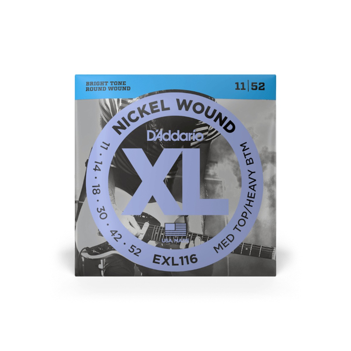 D Addario EXL116 Nickel Round Wound  011    052