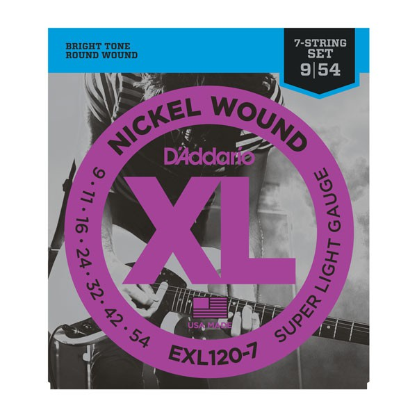 D Addario EXL120 7 Nickel  009    054