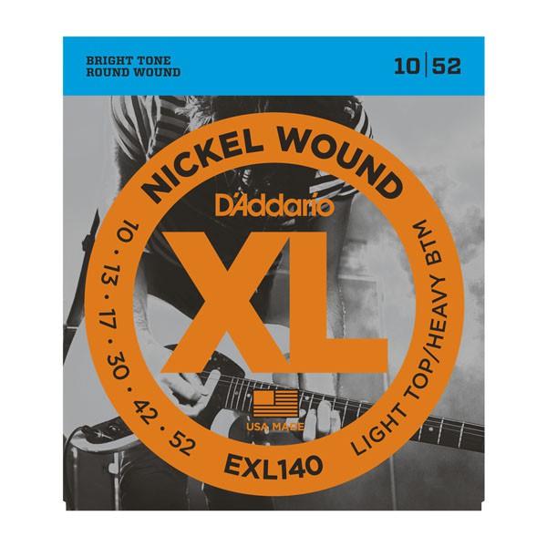 D Addario EXL140 Nickel Round Wound  010    052