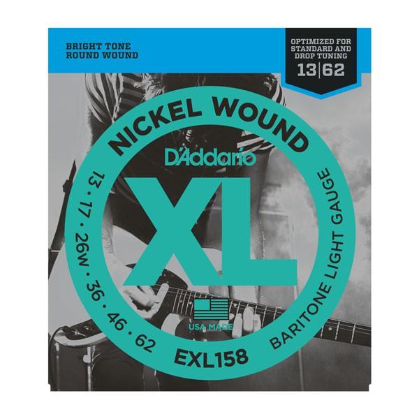 D Addario EXL158 Bariton Round Wound  013    062