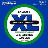 D Addario EXL220 5 Super Long Sc  5 S   040    125