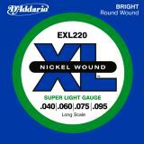D Addario EXL220 Super Longscale  040    095