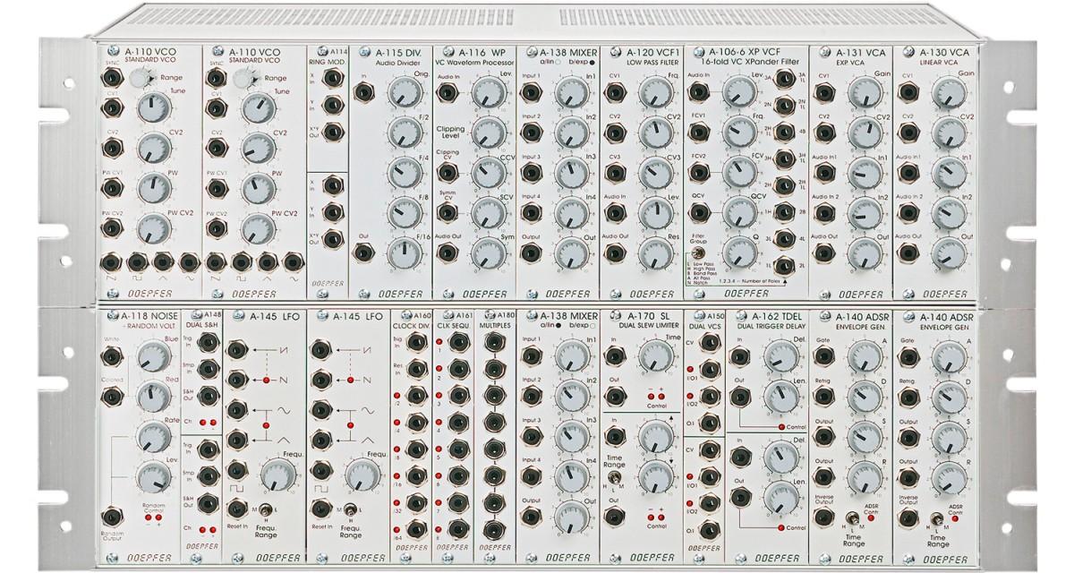Doepfer A 100 Basis System 1 G6 PSU3