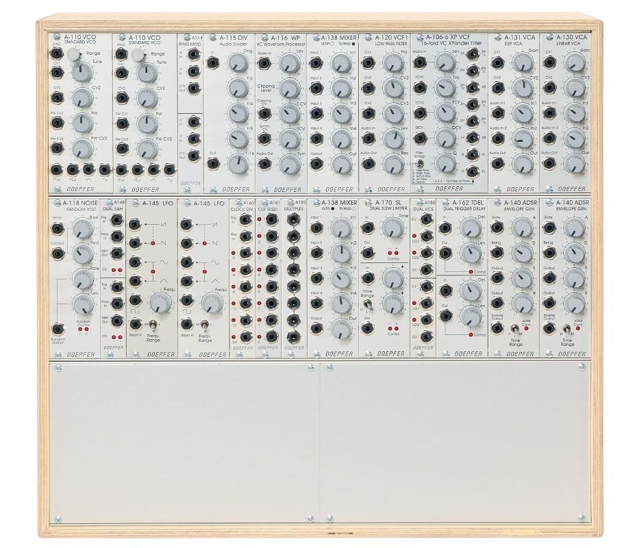 Doepfer A 100 Basis System 1 LC9 PSU3